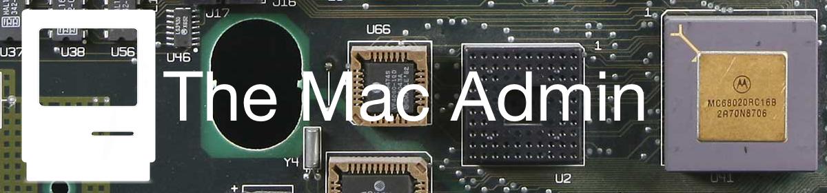 The Mac Admin